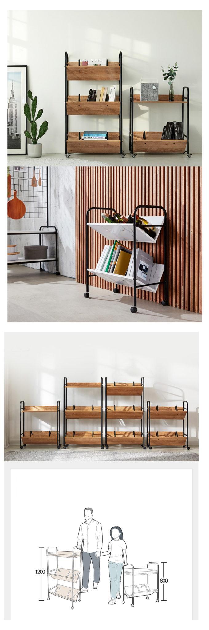 Có thiết kế thêm bánh lăn dễ dàng di chuyển trong không gian của bạn.