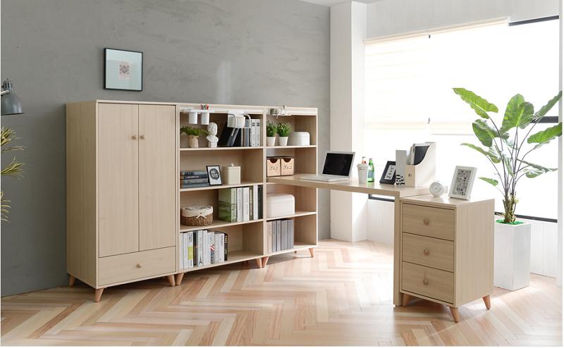 Kết hợp nhiều nội thất phòng ngủ với nhau để sử dụng tối đa diện tích