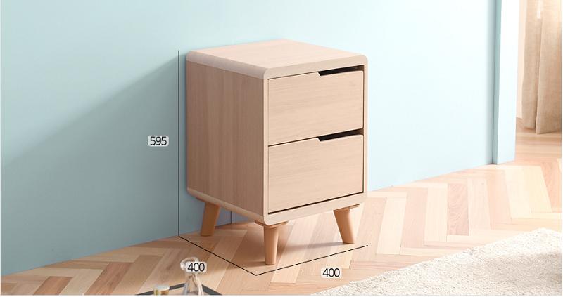 Tủ đầu giường nhỏ gọn và tiện dụng