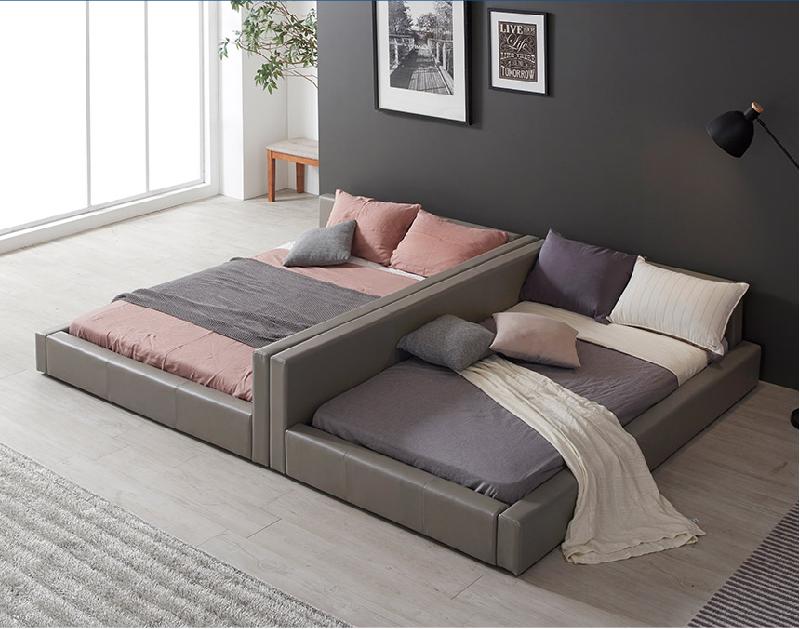 Sự kết hợp hai giường tiết kiệm không gian