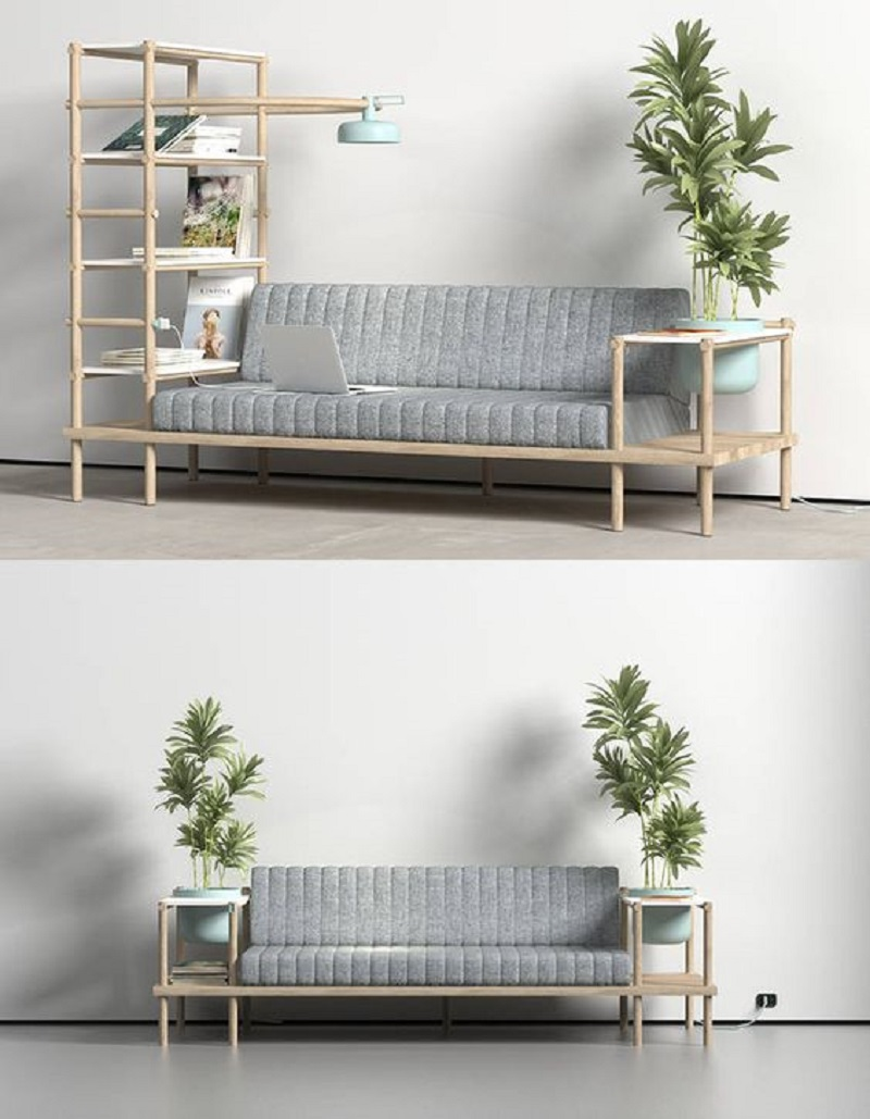 Sofa kết hợp giường