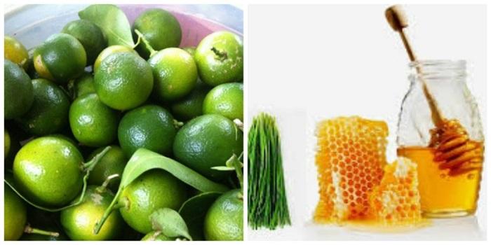 Mẹo trị ho cho trẻ bằng quất xanh và mật ong