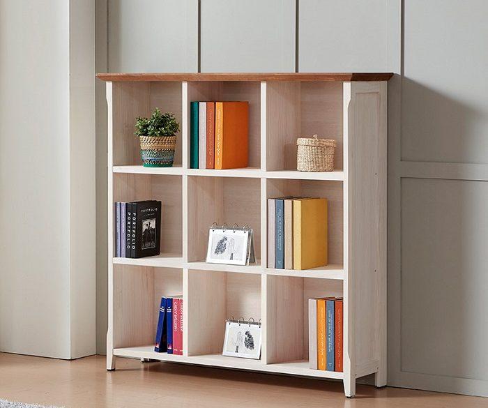 Kệ sách hiện đại giúp phòng làm việc gọn gàng và sang trọng hơn