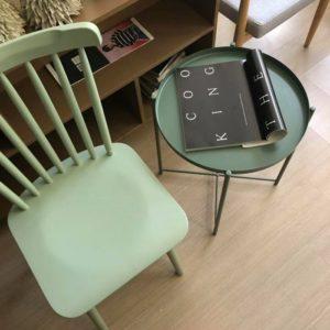Mẫu ghế gỗ đơn giản giành cho phòng làm việc