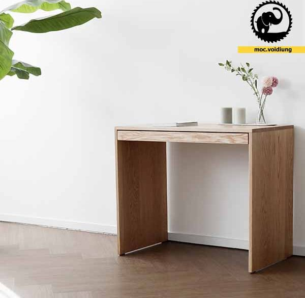 Bàn làm việc bằng gỗ cho desktop nhà bạn được sang trọng hơn
