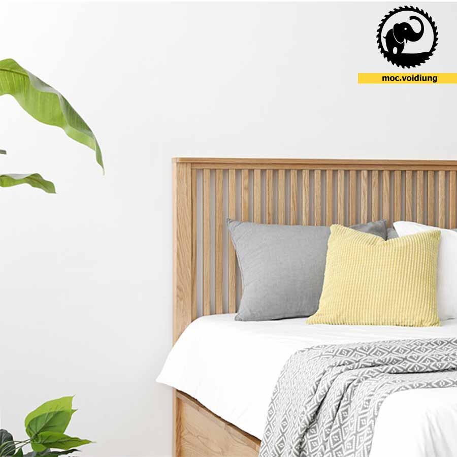 Đầu giường được thiết kế tinh tế