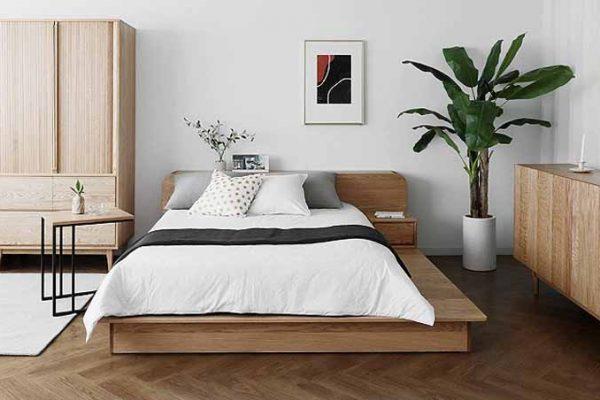 Mẫu giường phản đơn giản