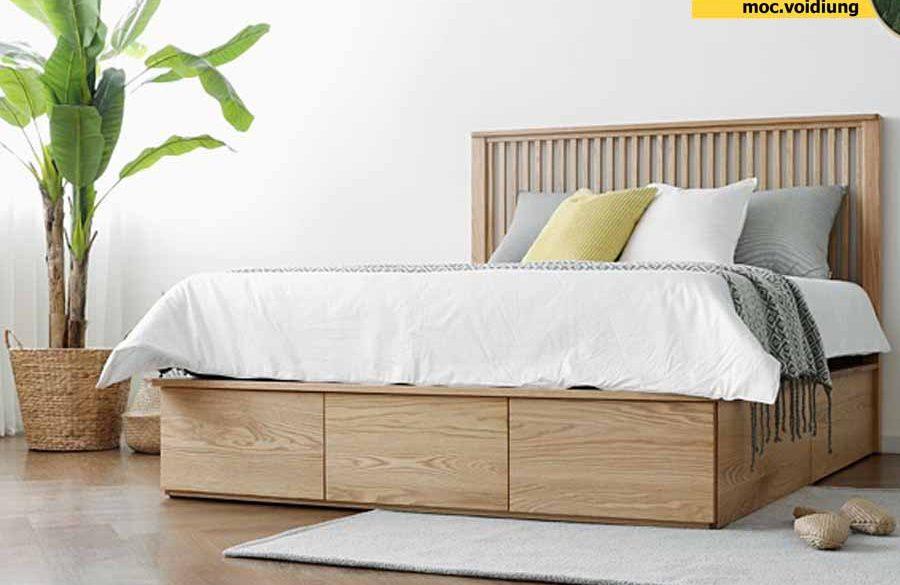 Giường đẹp hiện đại cho bạn một giấc ngủ ngon sau ngày dài làm việc
