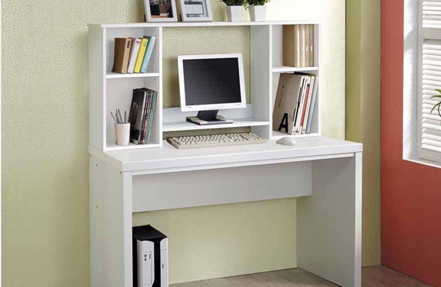Bàn laptop cực xinh trang trí cho những căn phòng làm việc đơn giản