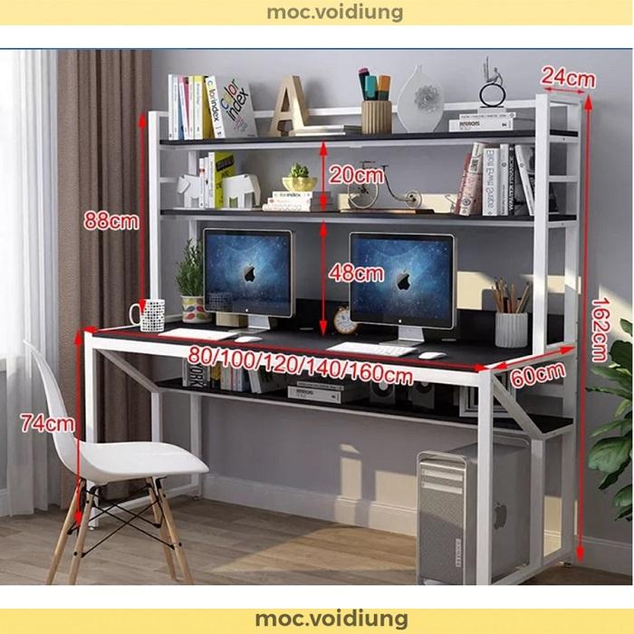 Kích thước bàn có thể thay đổi phụ thuộc yêu cầu của khách