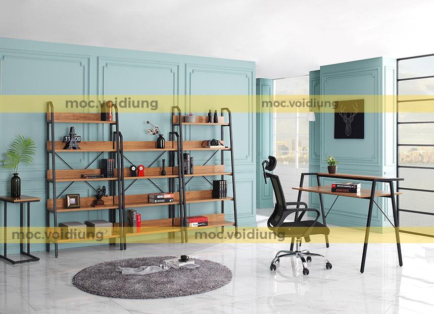 Màu gỗ tự nhiên dễ dàng kết hợp với các nội thất khác