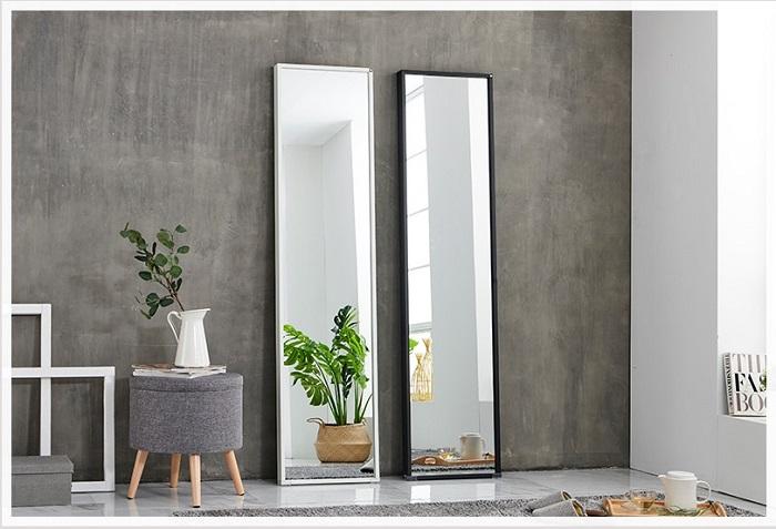 Gương dựa tường lớn cho phòng thay đồ