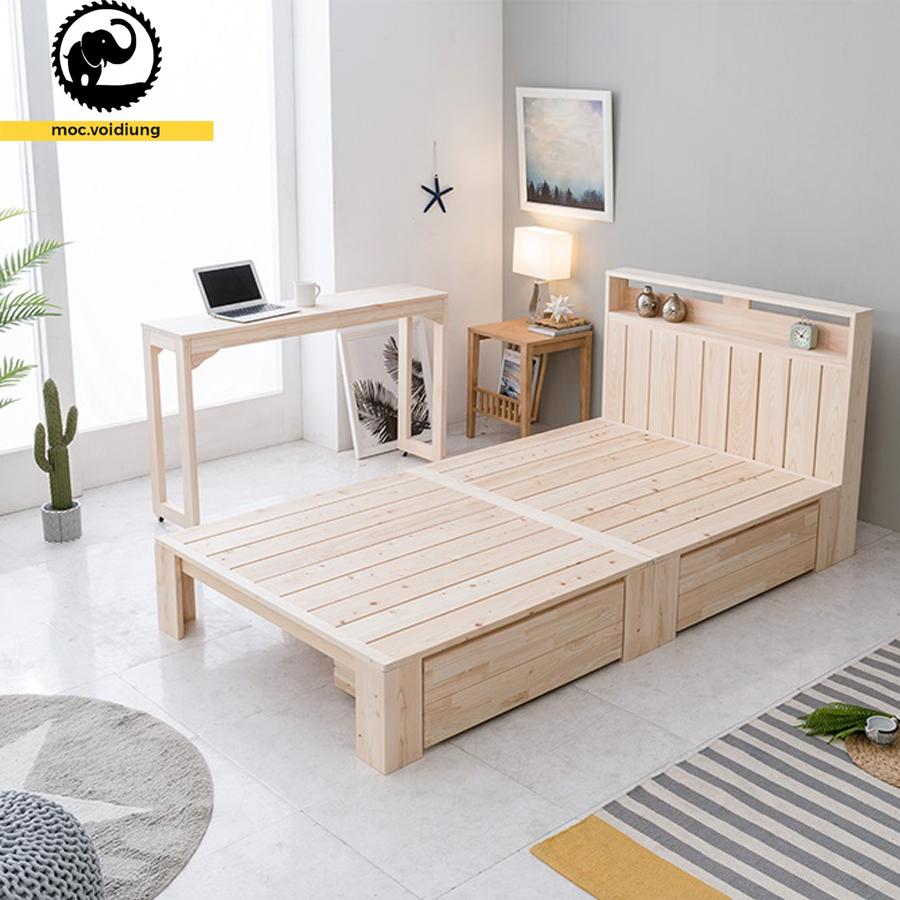 Thiết kế giường cho không gian setup theo phong cách lãng mạn