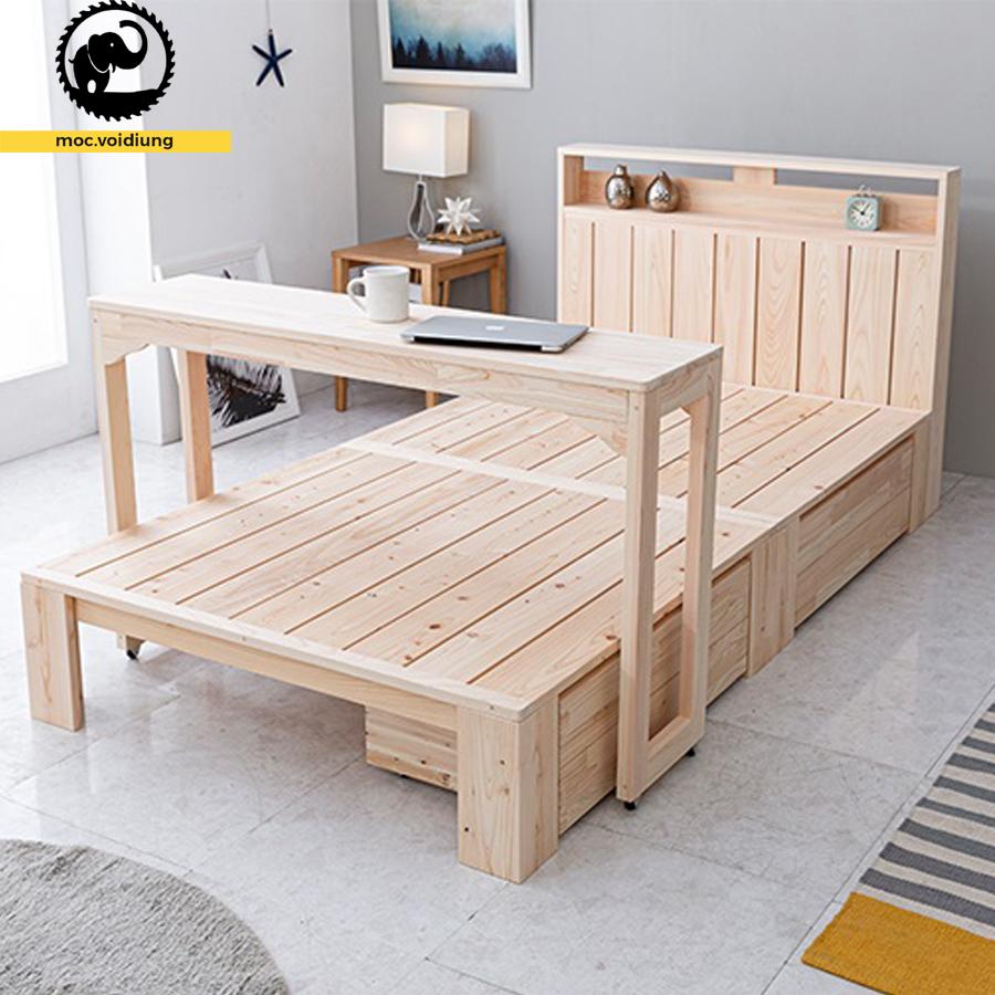 Giường ngủ giá rẻ siêu tiện ích cho không gian phòng ngủ của những đôi vợ chồng trẻ
