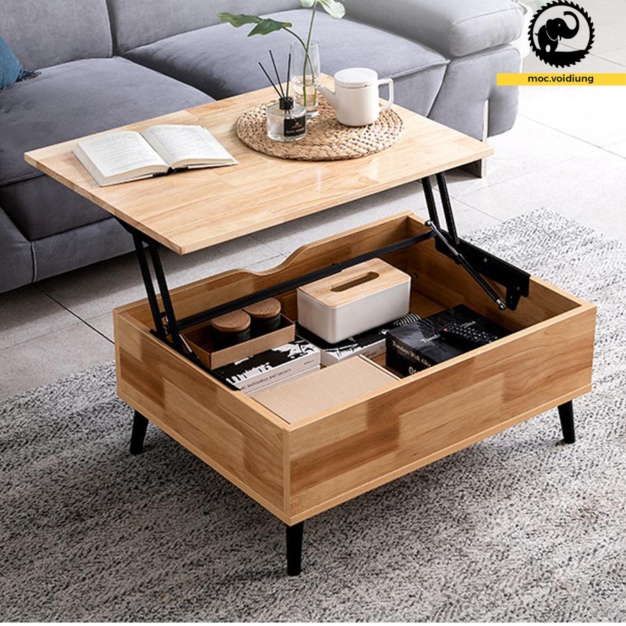 Bàn kết hợp giữa mục đích làm việc và bàn sofa tiếp khách