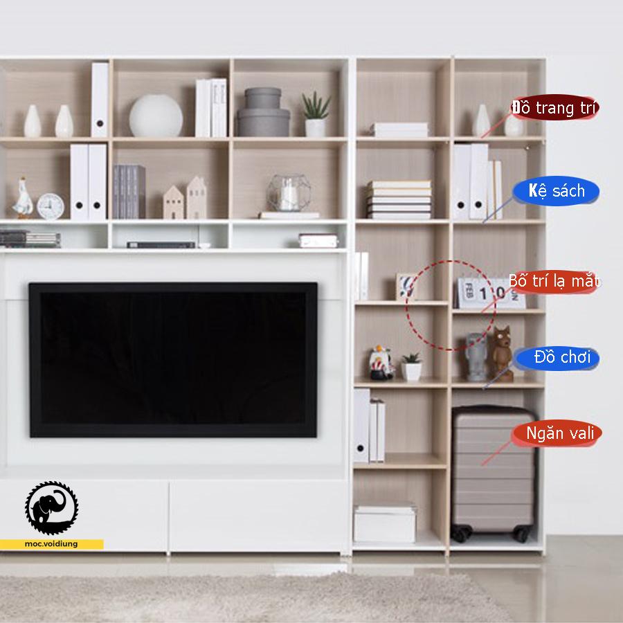Kệ tivi đơn giản hơn cho gia đình nhỏ