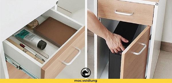 Ngăn kéo và tủ tài liệu tiện lợi cho quá trình sử dụng