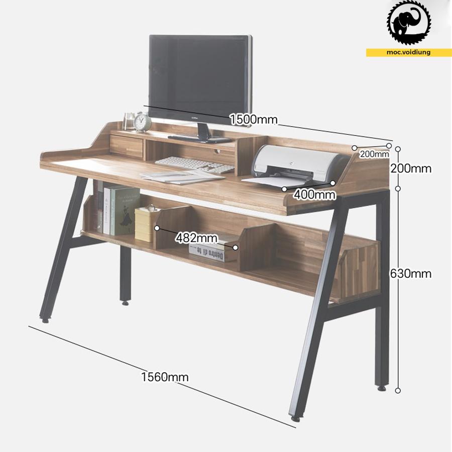 Kích thước bàn chi tiết