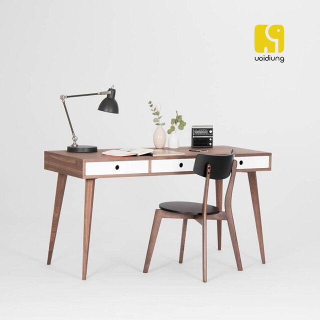 Combo bàn làm việc gỗ - BBVDU 11