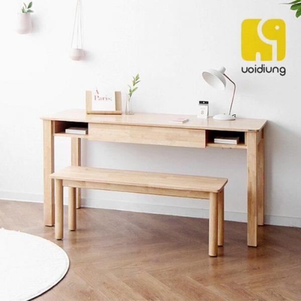 Combo bàn làm việc gỗ - BBVDU 06.