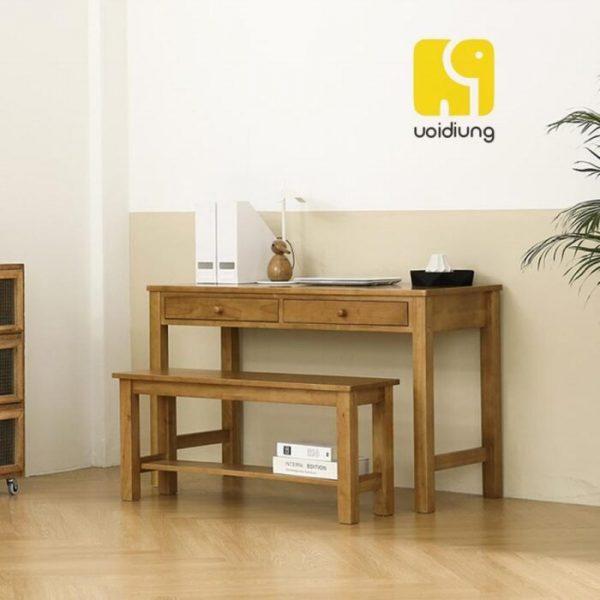 Combo bàn làm việc gỗ - BBVDU 08